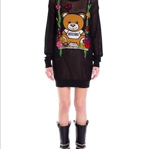 Moschino Dresses - Moschino Bear Floral Swing Dress